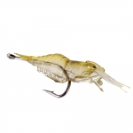 Soft Shrimp Fishing Lure 4cm 5 pcs Including Hooks