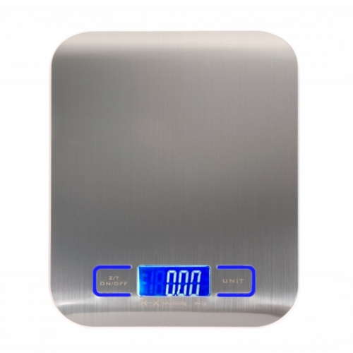 Kitchen Scale Measure Electronic LED 1g ~ 5kg Rectangular