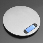Kitchen Scale Measure Electronic LED 1g ~ 5kg Circular Shape
